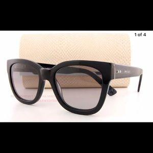 Jimmy choo Otti/s J3p Black marble sunglasses